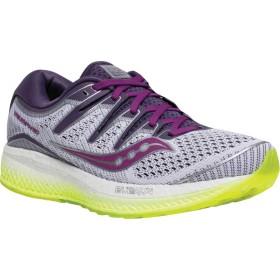 [サッカニー] シューズ スニーカー Triumph ISO 5 Running Sneaker White/Purp レディース [並行輸入品]
