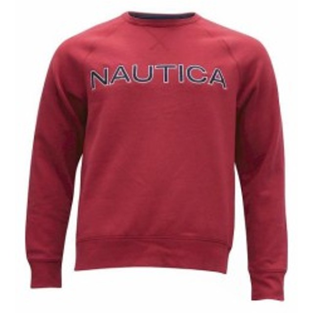 nautica ノーティカ ファッション トップス Nautica Mens Fleece Long Sleeve Crew Neck Sweatshirt