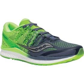 [サッカニー] シューズ スニーカー Freedom ISO 2 Running Shoe Grey/Slime メンズ [並行輸入品]