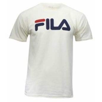 fila フィラ ファッション トップス Fila Mens Printed Short Sleeve Crew Neck T-Shirt
