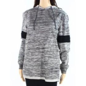 Retrofit  ファッション トップス Retrofit Womens Sweater Black Gray Size Medium M Hoodded Pull-Over