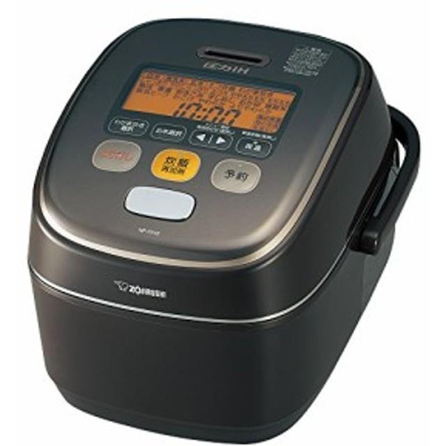 象印 炊飯器 圧力IH式 5.5合 ブラウン NP-YA10-TA(中古品)