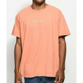 UPS  ファッション トップス YG 4 HUNNID Records Hit Ups T-Shirt Mens Coral Tee Music NWT 100% Authentic