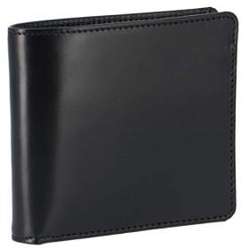 GLENROYAL(グレンロイヤル) 財布 メンズ BRIDLE LEATHER 2つ折り財布 BLACK 035208-0001-0002 [並行輸入品]