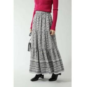ROSE BUD / ローズ バッド フォークロア柄スカート