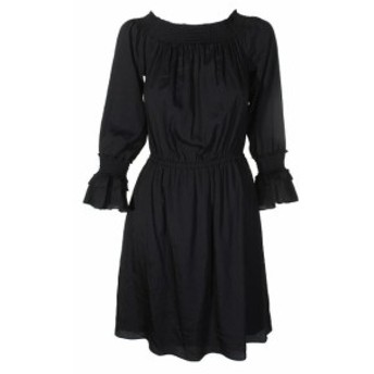 Robe  ファッション ドレス Kobi Noir Off-The-Shoulder Robe M