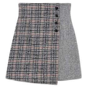 Lily Brown(リリーブラウン)ツイードチェック台形スカート