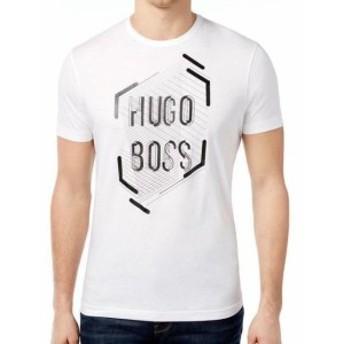 BOSS ボス ファッション トップス Hugo Boss Mens Premium Designer Graphic Cotton Shirt T-Shirt 50312850