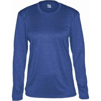 HEATHER  スポーツ用品 ベースボール Badger Womens Pro Heather Long Sleeve Shirt