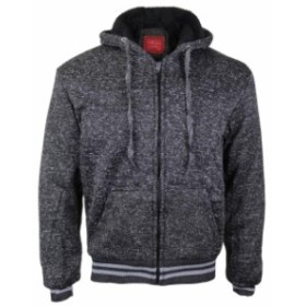 Maximos  ファッション トップス Maximos Mens Athletic Soft Sherpa Lined Fleece Zip Up Hoodie Sweater Jacket