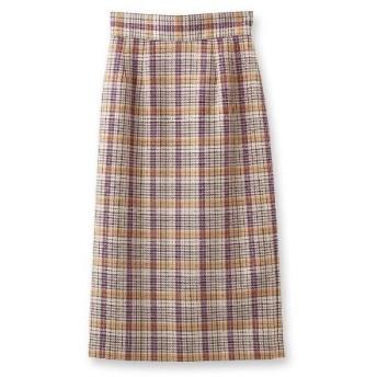 aquagirl(アクアガール)チェックミモレタイトスカート