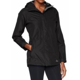 sierra シエラ ファッション 衣類 White Sierra NEW Black Womens Size XL Hooded Zip-Front Rain Jacket
