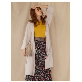 MEW'S REFINED CLOTHES(ミューズ)ウエストドロストロングアウター