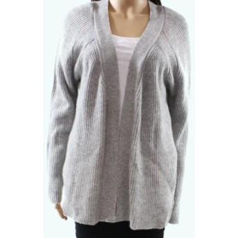 ファッション トップス Fate by LFD NEW Gray Womens Size Medium M Ribbed Cardigan Sweater
