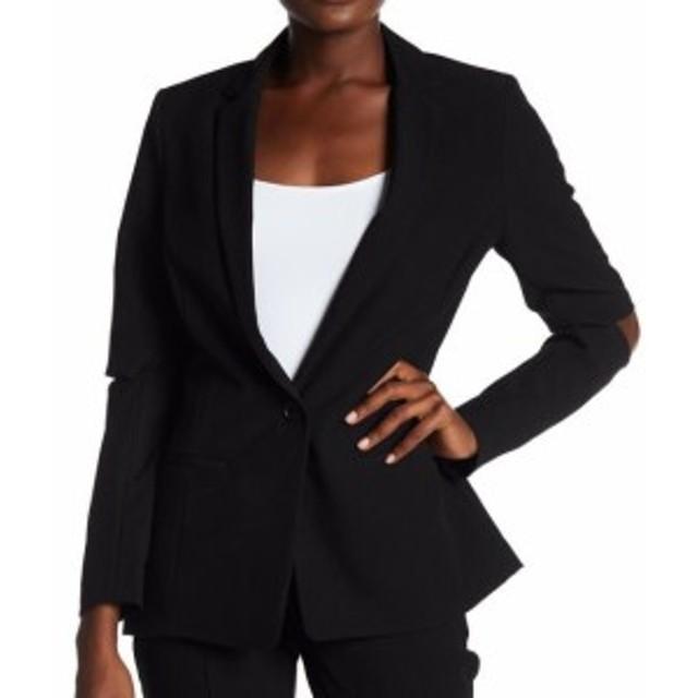 Blazer ブレザー ファッション フォーマル Supply & Demand NEW Black Cold Elbow Women Medium M Blazer Suit Jacket
