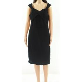 Eva by Eva Franco  ファッション ドレス Eva By Eva Franco NEW Black Womens Size 10 Sophia Sheath Dress