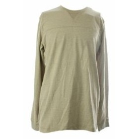 Bass バス ファッション トップス G.H Bass & Co. New Taupe Jersey V Neck T Shirt L