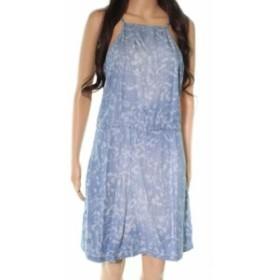 Tart タルト ファッション ドレス Tart NEW Blue Womens Size Medium M Denim Square-Neck Sheath Dress