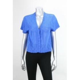 ファッション フォーマル Elementz Blue Short-Sleeve Bolero L