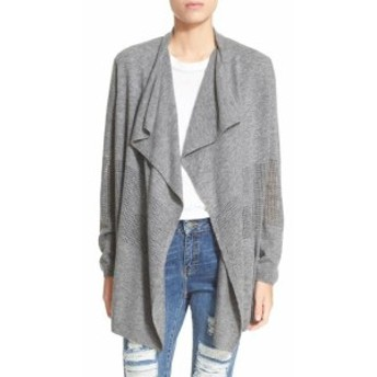 The Kooples ザ クープルズ ファッション トップス Sport The Kooples NEW Gray Womens XL Draped Open Knit Cardigan Sweater
