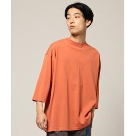 【40%OFF】 ビームス メン BEAMS / シルケット 8分袖 Tシャツ メンズ BRICK L 【BEAMS MEN】 【セール開催中】