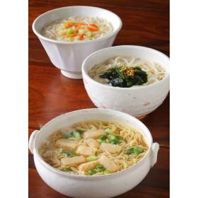 池利 カップで手軽にお湯かけスープ素麺 6食入り