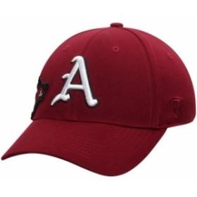 Top of the World トップ オブ ザ ワールド スポーツ用品  Top of the World Arkansas Razorbacks Cardinal Buster II 1Fit Flex Hat