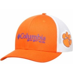 Columbia コロンビア スポーツ用品  Columbia Clemson Tigers Orange Collegiate PFG Flex Hat