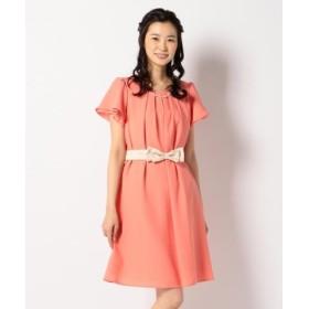 any SiS 2WAY フレアジョーゼット ドレス