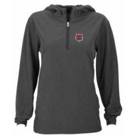 Vantage Apparel バンテージ アパレル スポーツ用品  Arkansas State Red Wolves Womens Charcoal Pullover Stretch Anorak Jacket