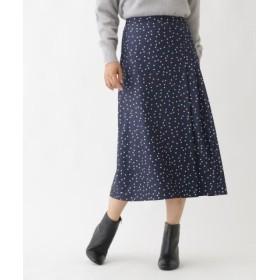 (Sofuol/ソフール)【Marisol11月号掲載】ランダムドットスカート/レディース ネイビー(193)