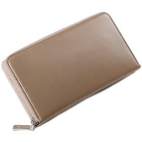 カバンのセレクション ペッレモルビダ 財布 長財布 メンズ 本革 PELLE MORBIDA BA202 カーフレザー ラウンドファスナー ユニセックス グレージュ 在庫 【Bag & Luggage SELECTION】