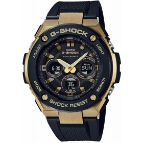 [カシオ]CASIO 腕時計 G-SHOCK ジーショック Gスチール 電波ソーラー GST-W300G-1A9JF メンズ 【4549526156243-GST-W300G-1A9JF】
