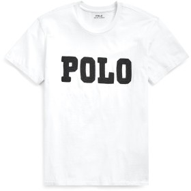 《セール開催中》POLO RALPH LAUREN レディース T シャツ ホワイト XS コットン 100% BIG FIT BEADED POLO TEE