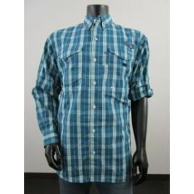 columbia コロンビア ファッション アウター Mens M Columbia PFG Super Bonehead Classic Long Sleeve Fishing Shirt Deep Water