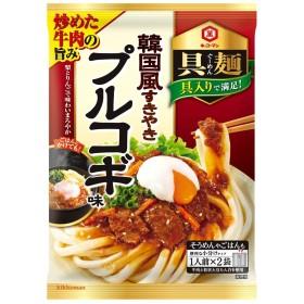 キッコーマン食品 具麺 韓国風すきやき プルコギ味 116g ×5個