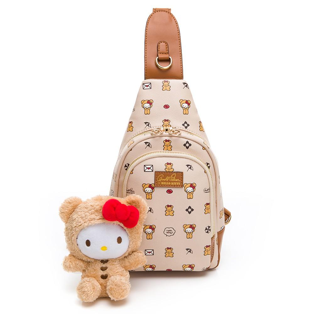 Hello Kitty聯名- 單肩背包 SPOIL / 熊愛你系列-咖色