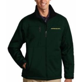 Antigua アンティグア スポーツ用品  Antigua Oregon Ducks Green Traverse Full-Zip Jacket