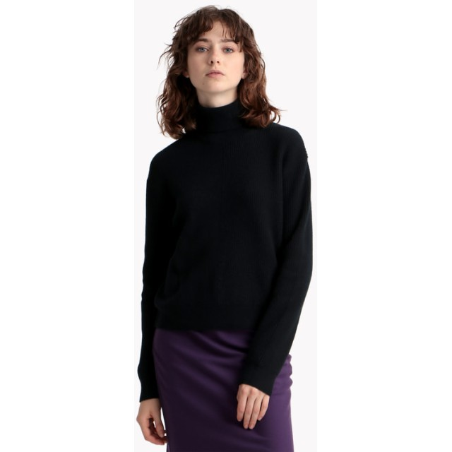 【Theory】Royal Wool Solid Tneck