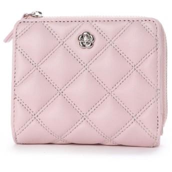 クレイサス CLATHAS クラシック 2つ折り財布 (ピンク)