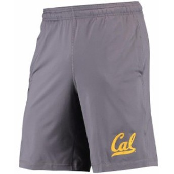 Under Armour アンダー アーマー スポーツ用品  Under Armour Cal Bears Graphite Solid Raid Performance Shorts
