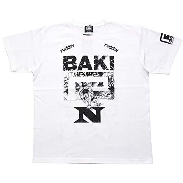 [リバーサル] Tシャツ 刃牙×那須川天心×rvddw TEE T462 メンズ レディース L ホワイト