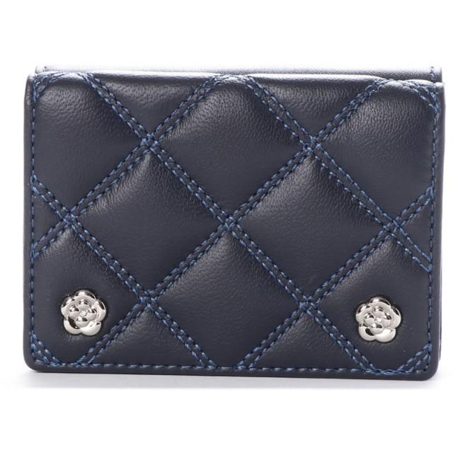クレイサス CLATHAS クラシック 3つ折り財布 (ネイビー)