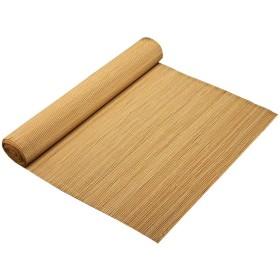 竹スラットテーブルランナー、 屋内または屋外の耐熱性テーブルマット、  クラシックティーテーブルマット (Size : 50x30cm)