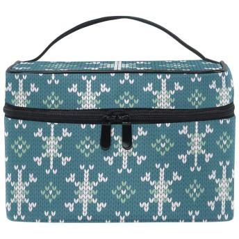 ブルーアートスター化粧品袋オーガナイザージッパー化粧バッグポーチトイレタリーケースガールレディース