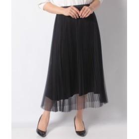 (haupia/ハウピア)ウスバカゲロウのように軽くスカート/レディース ネイビー
