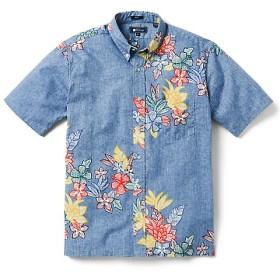 <レインスプーナー/REYN SPOONER>【受注販売】ハワイアンシャツ(アロハシャツ)/フルオープン SOUTH P 162L.BLUE【三越・伊勢丹/公式】