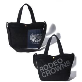 (astute/アスチュート)【RODEO CROWNS】 CORDUROY SHOLDER BAG/レディース BK