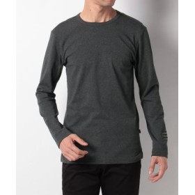 (Orobianco/オロビアンコ)袖ロゴ刺繍フライス長袖Tシャツ/メンズ CHARCOALGRAY