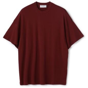 CAN PEP REY / ビッグシルエットTシャツ ボルドー/X-SMALL(エストネーション)◆レディース Tシャツ/カットソー